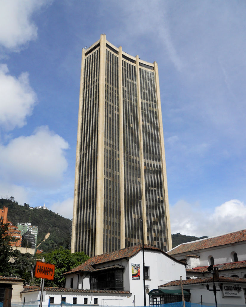 Centro Internacional Tequendama. Foto: Wikimedia Commons