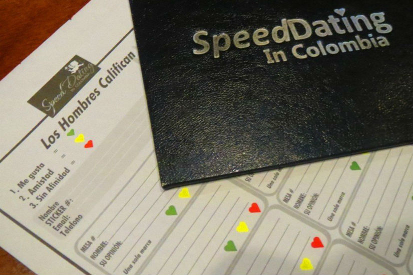 Foto: Speed dating in Colombia-Facebook