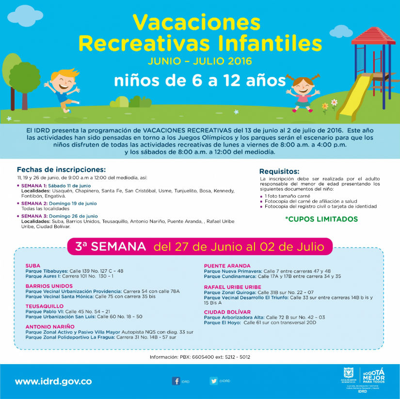 Vacaciones recreativas 2